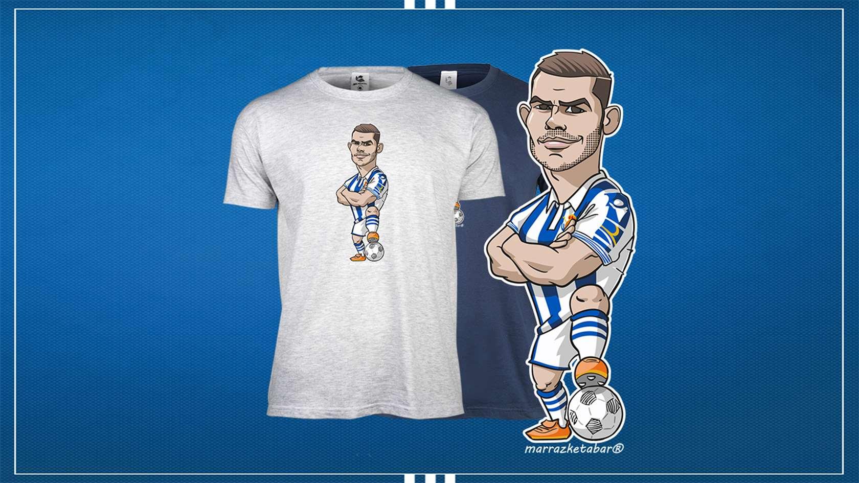 Camiseta Real Sociedad Theo