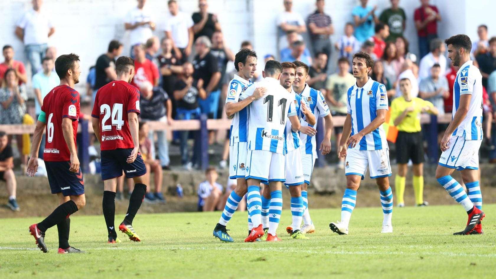 Maillot Domicile Real Sociedad H.Moreno