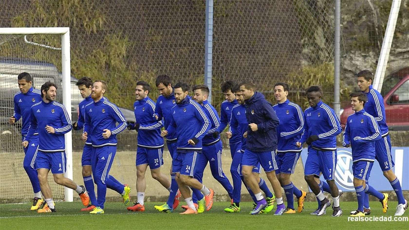 La Real reanuda hoy jueves el trabajo - Real Sociedad de Fútbol S.A.D.