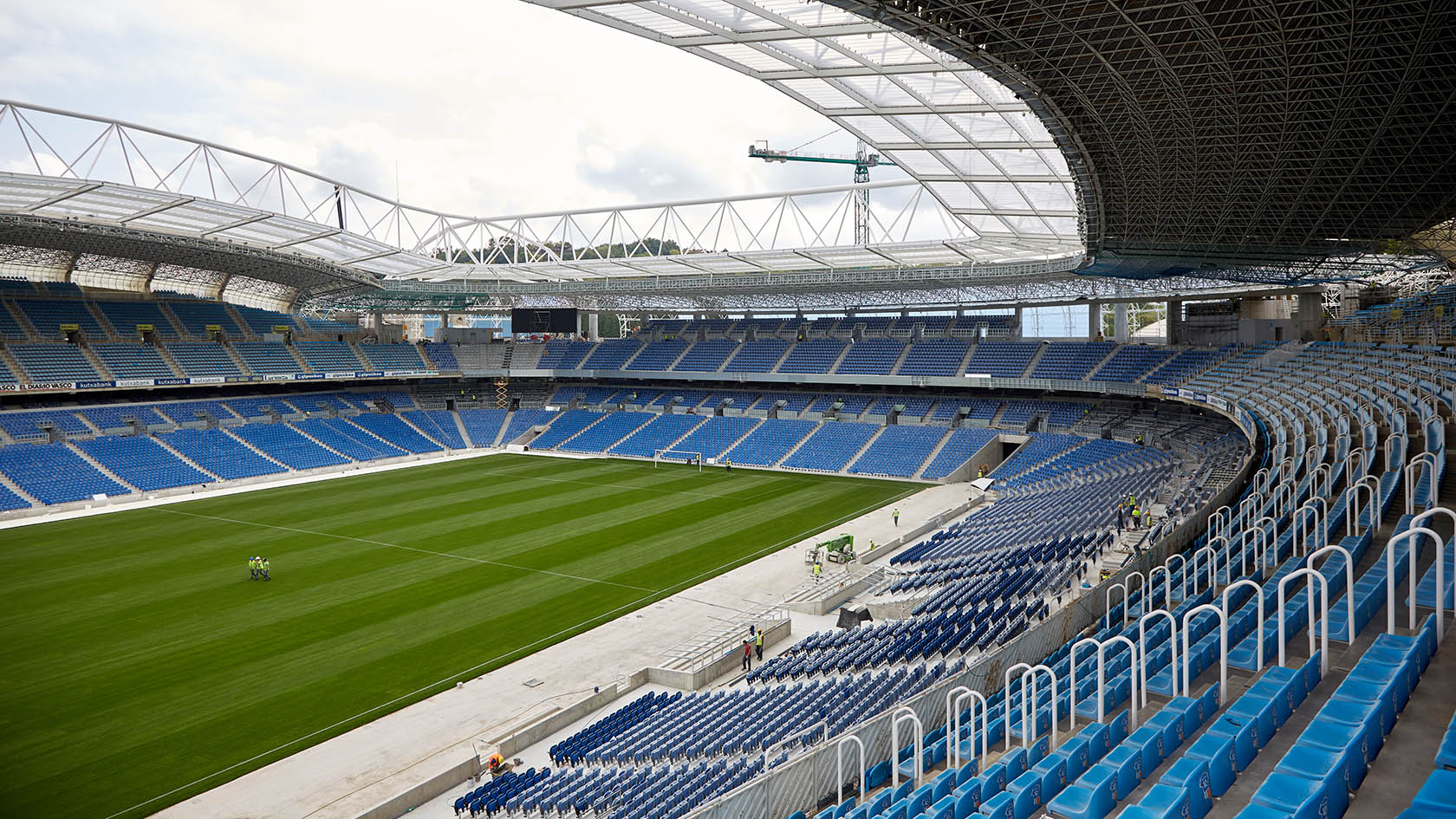 What a beautiful stadium