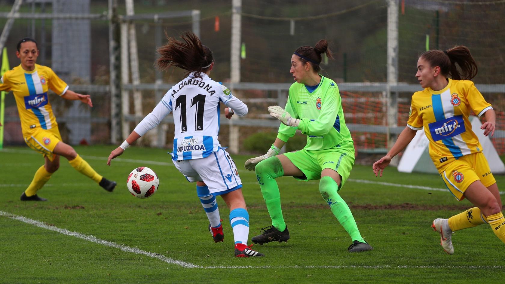 Sin goles en Zubieta