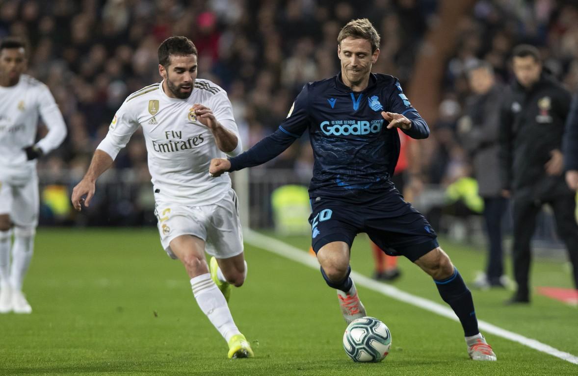 Las imágenes del Bernabéu